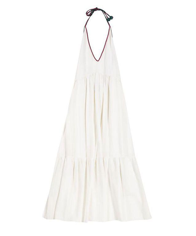 Robe fluide blanche Zeus + Dione