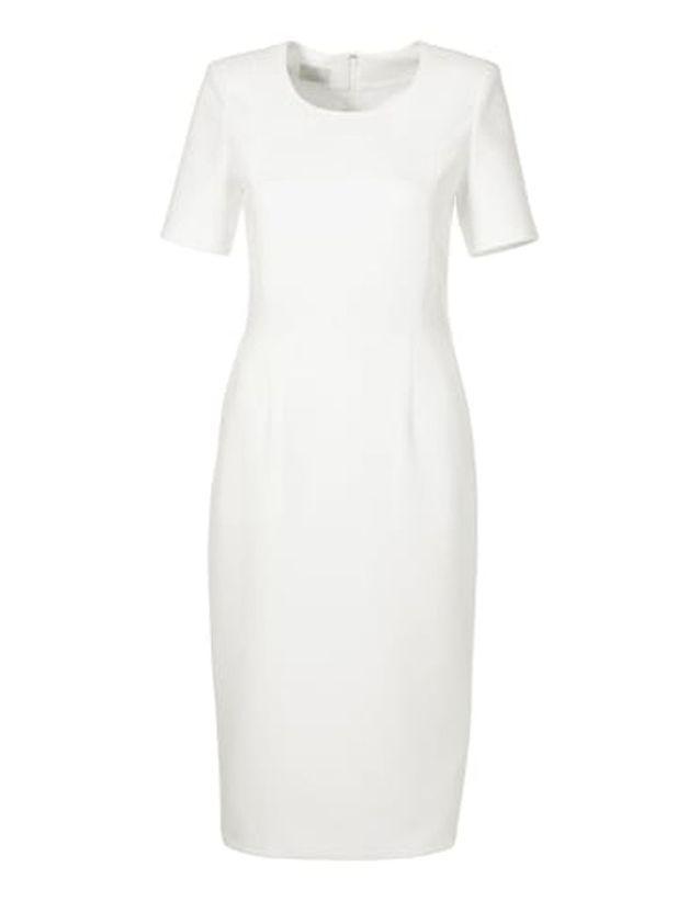 Robe grande taille blanche Madeleine