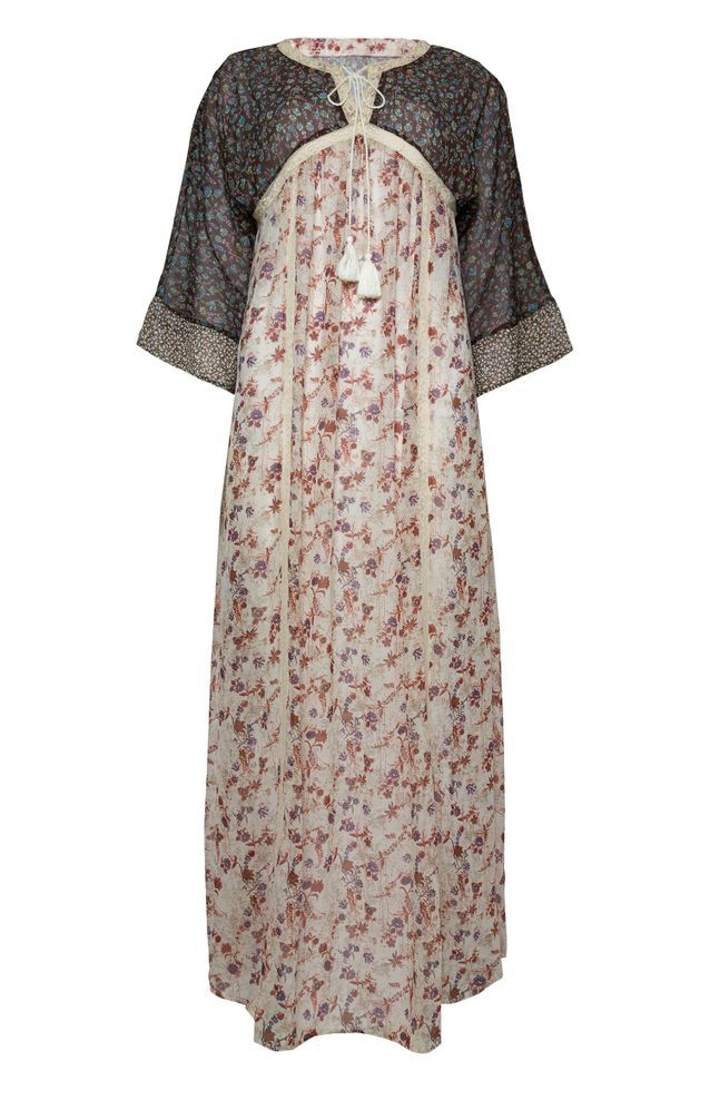 Robe hippie à fleurs Primark