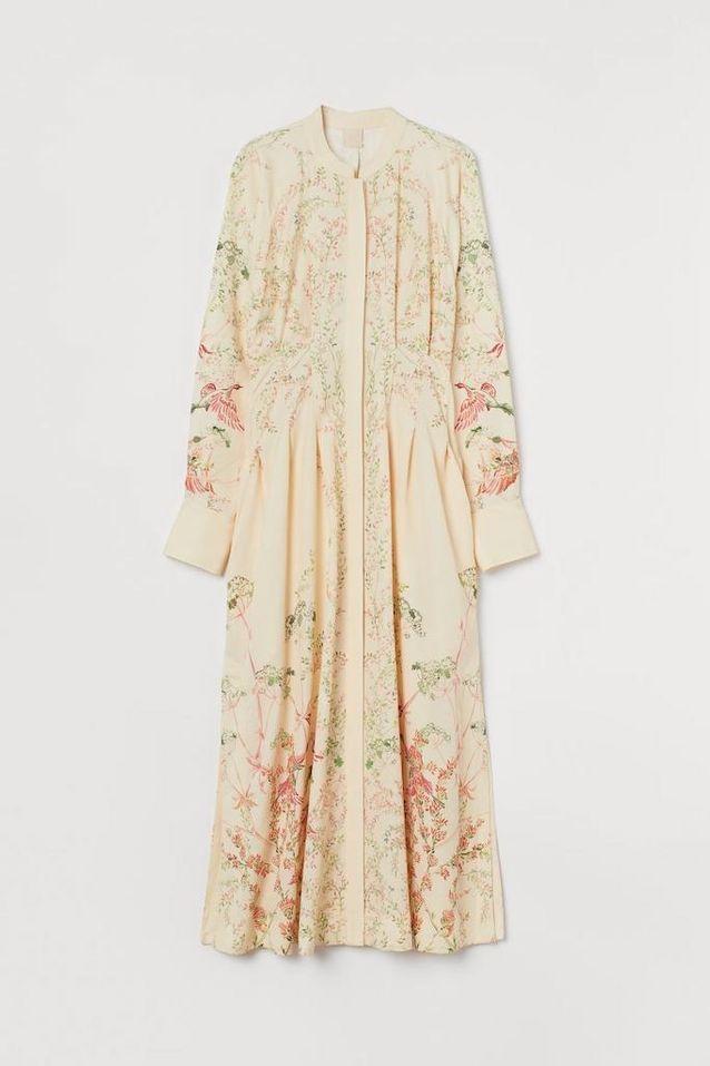 Robe longue H&M imprimée