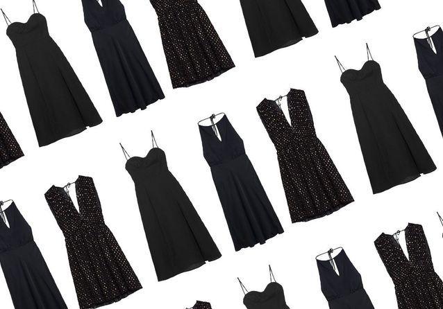 20 jolies robes noires que l'on rêve d'avoir cet hiver