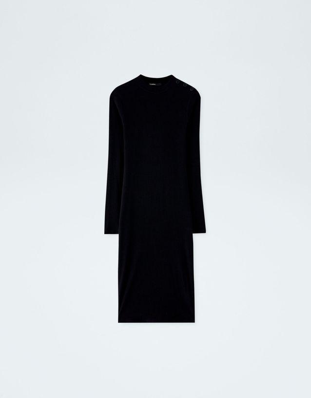 b9cd93204 Robe noire Pull & Bear - 50 jolies robes noires que l'on rêve d ...