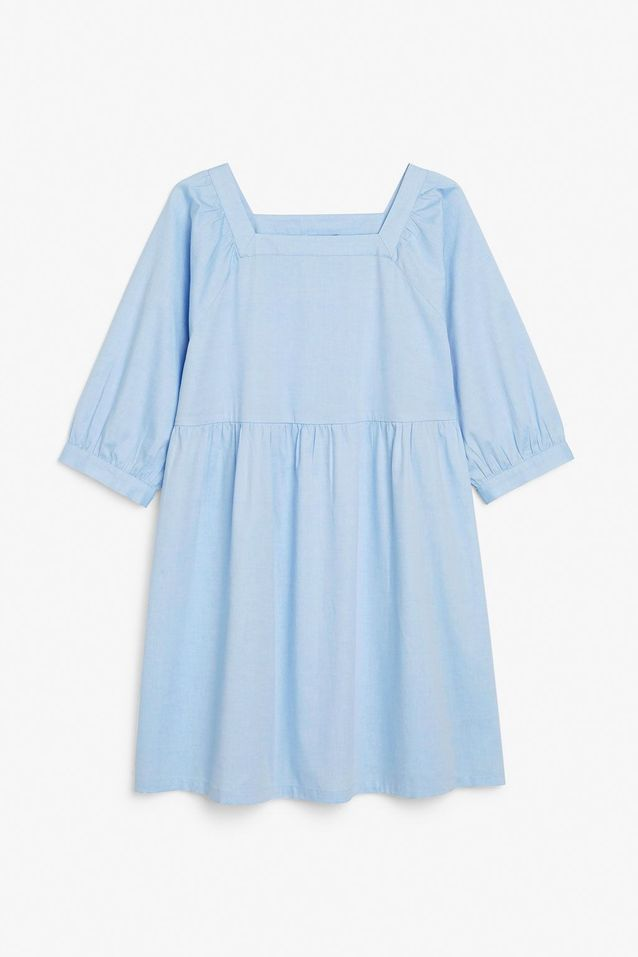 Robe bleu pastel Monki