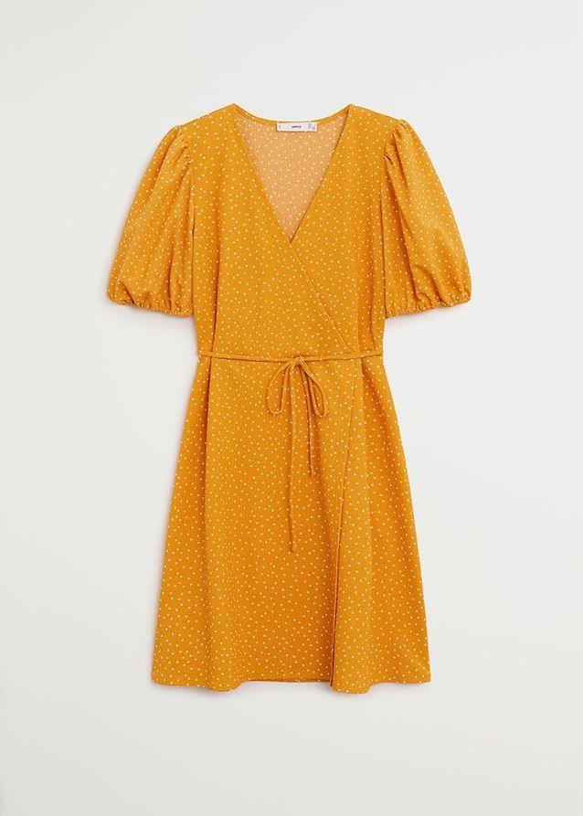 Robe cache-coeur Mango