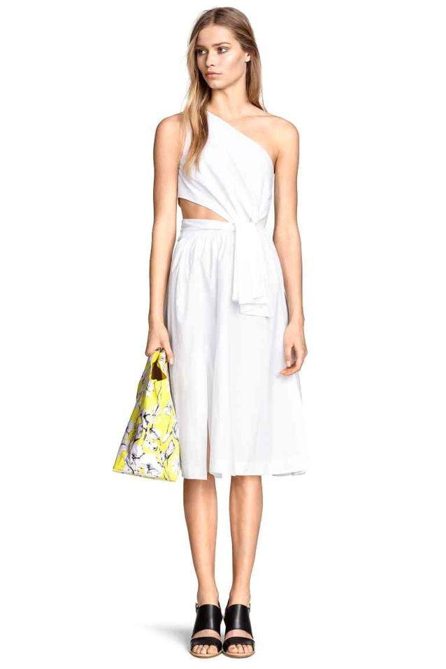 Robe blanche H&M