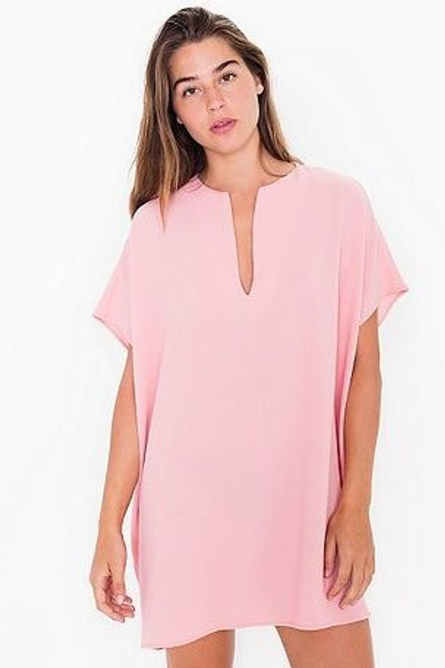 Robe rose pale American Apparel