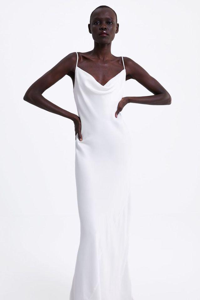 Zara dévoile une sublime robe qu'on aimerait