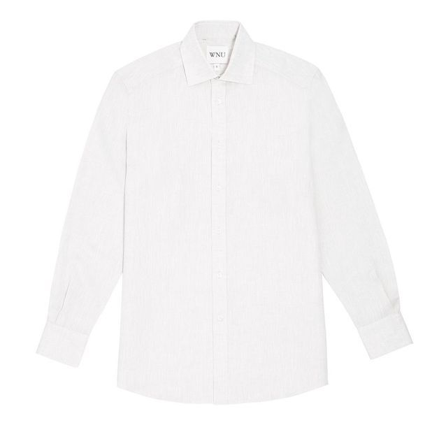 Chemise blanche en lin With Nothing Underneath