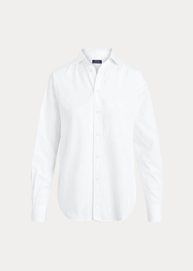 Chemise blanche en popeline de coton Ralph Lauren