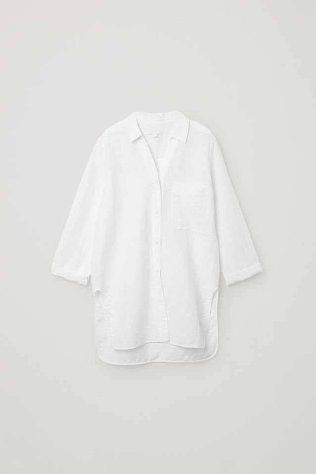 Chemise blanche oversize COS