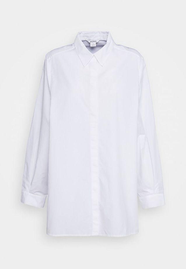 Chemise blanche oversize Monki sur Zalando