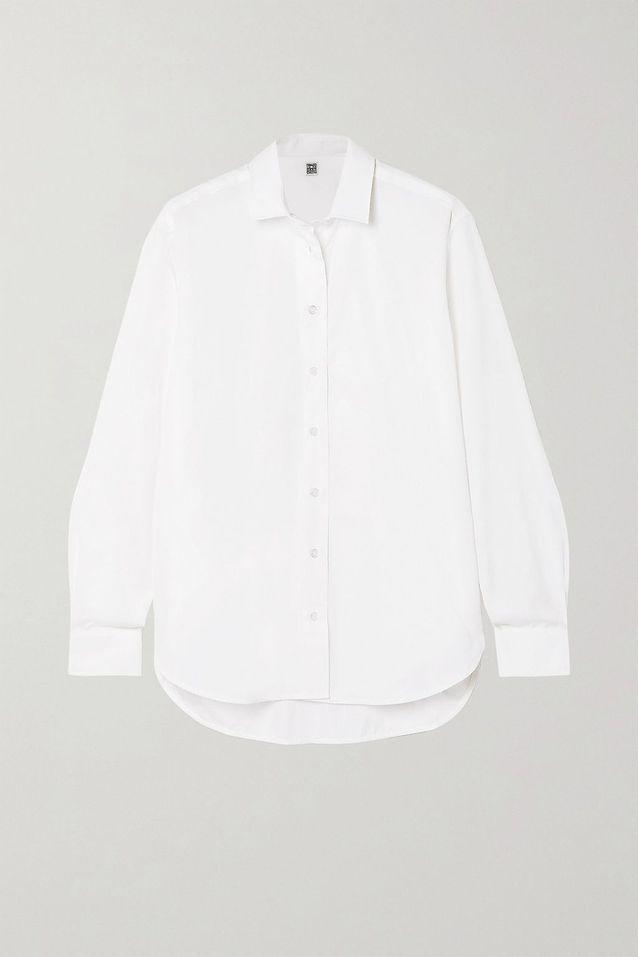 Chemise blanche Totême