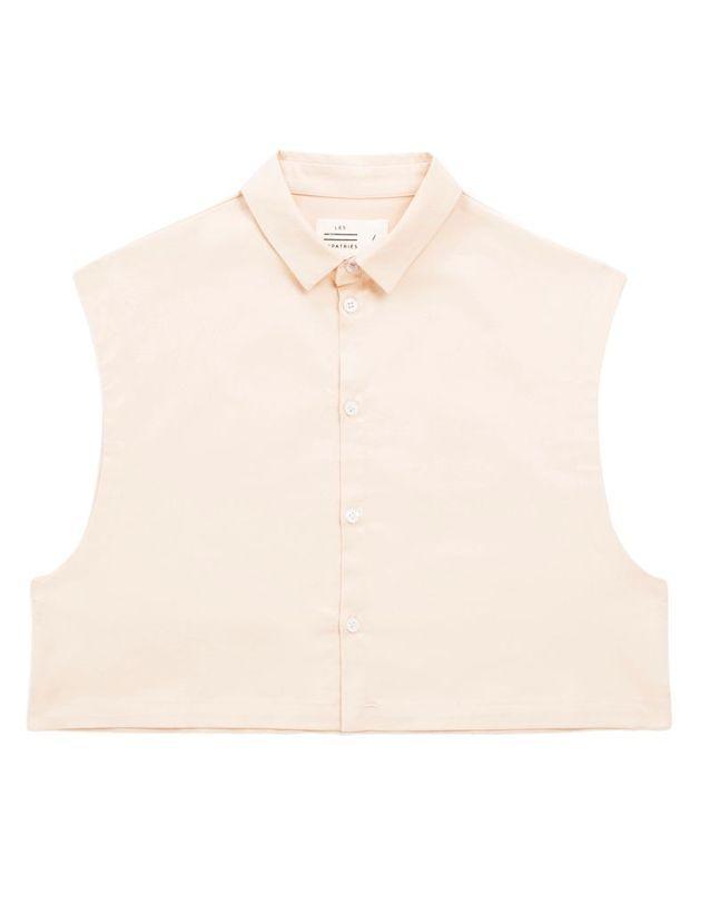 Crop top chemise