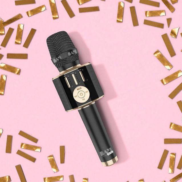 Un micro BAM Karaoke
