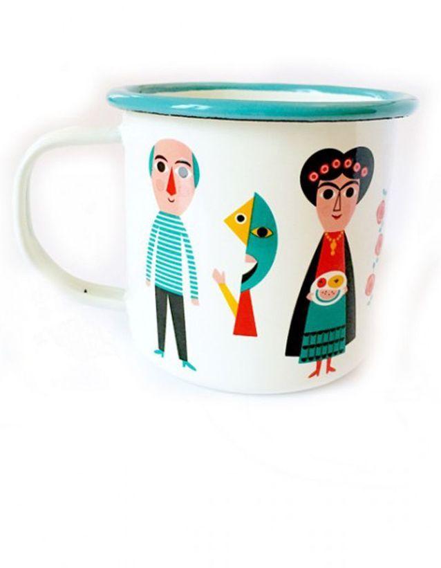 Un mug arty