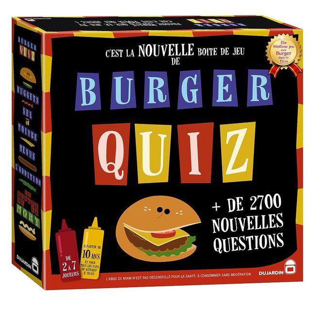 Le jeu Burger quizz