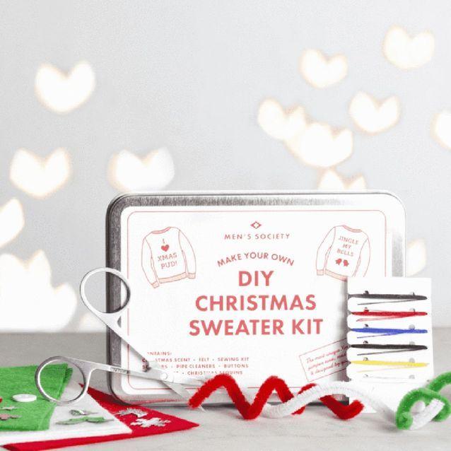 Un kit pour personnalisé son pull de Noël