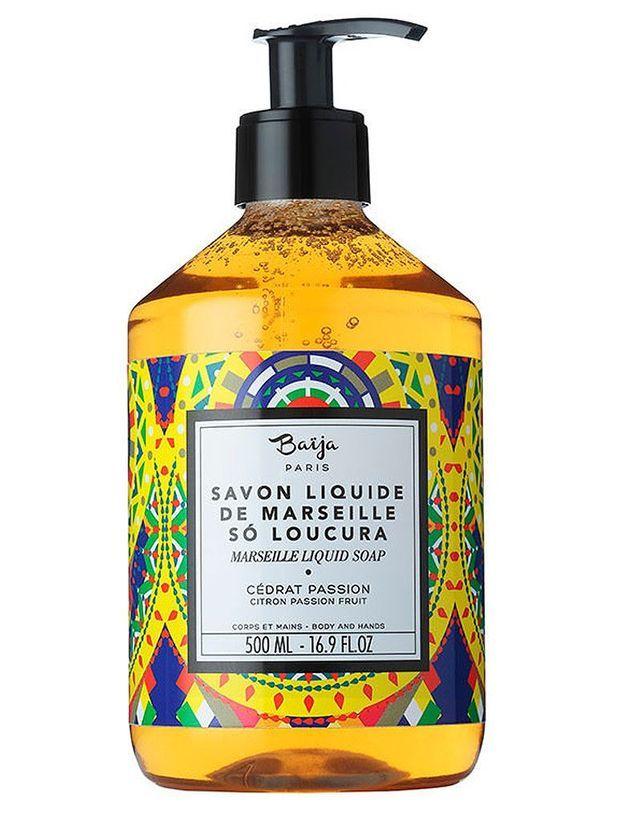 Un savon liquide aux parfums exotiques