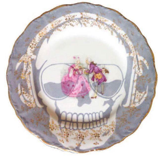 De la porcelaine fine décalée
