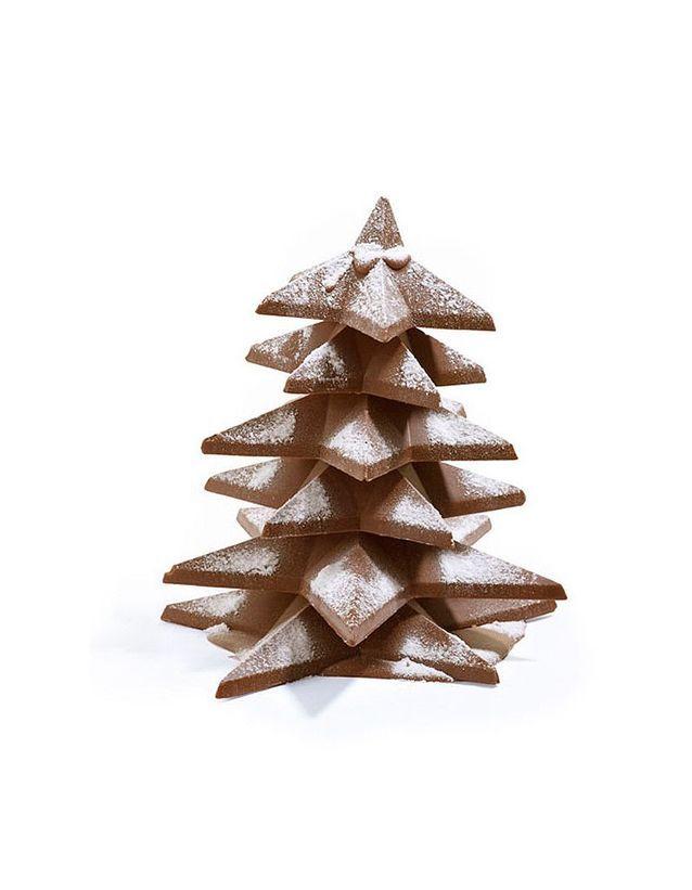 Sapin de Noël en chocolat, Belvas