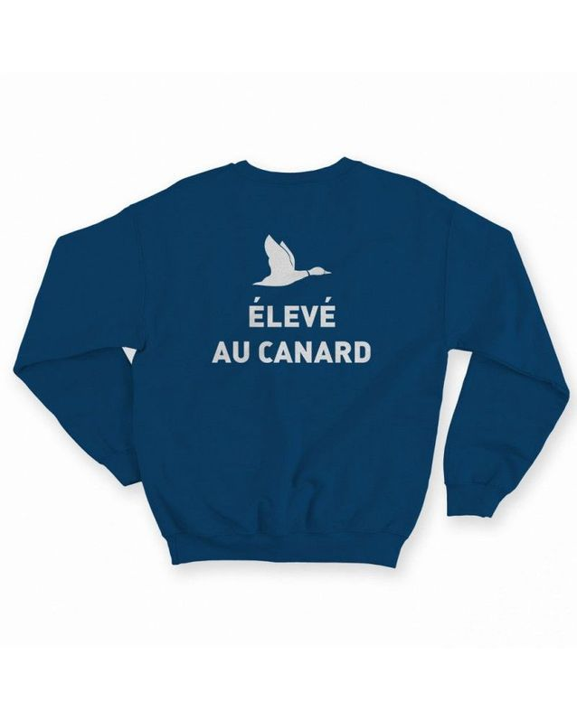Sweat- shirt élevé au canard