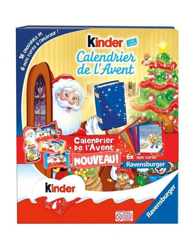 Découvrez les calendriers de l'Avent Kinder   Elle