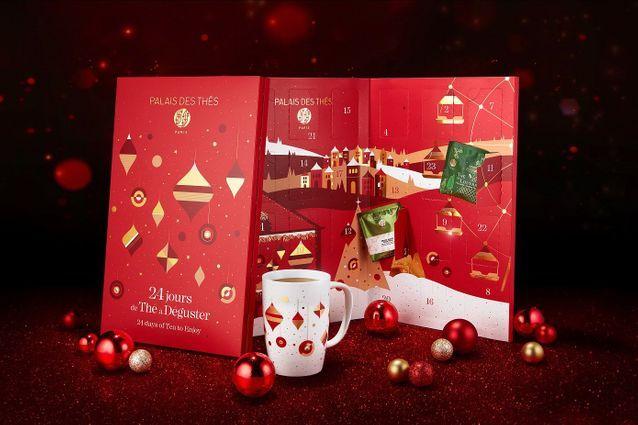 Calendrier de l'Avent des thés 2020 pour faire une pause jusqu'à Noël