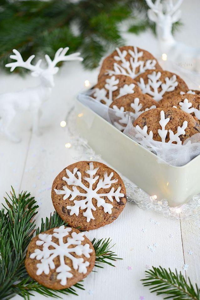 Christmas cake : Cookies de Noël végétalien