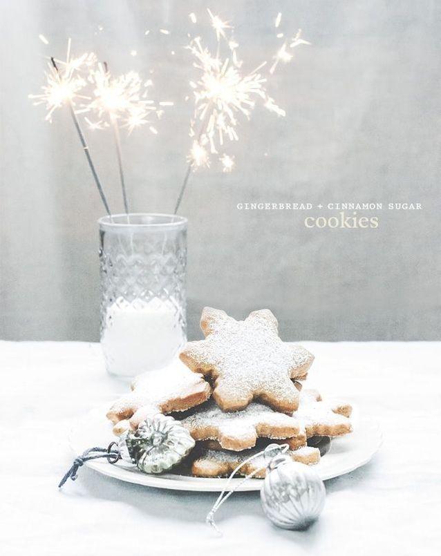 Christmas cake : Des cookies au gingembre et à la cannelle