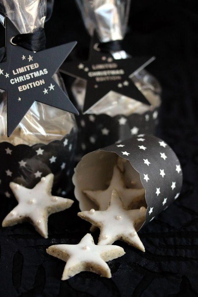 Christmas cake : Des étoiles aux amandes et au thé