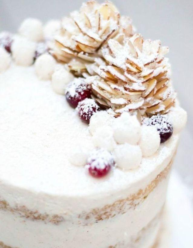 Christmas cake : Layer cake au lait de poule
