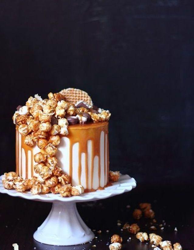 Christmas cake : Layer cake cheesecake caramel