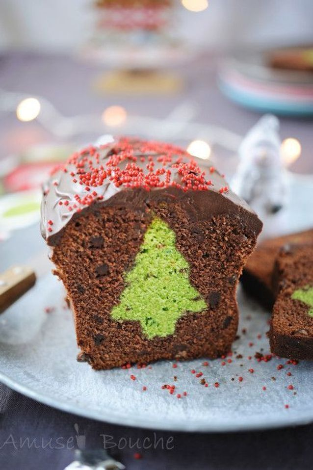 Christmas cake : Le cake surprise de Noël