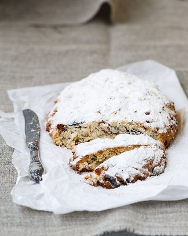 Christmas cake : Le stollen
