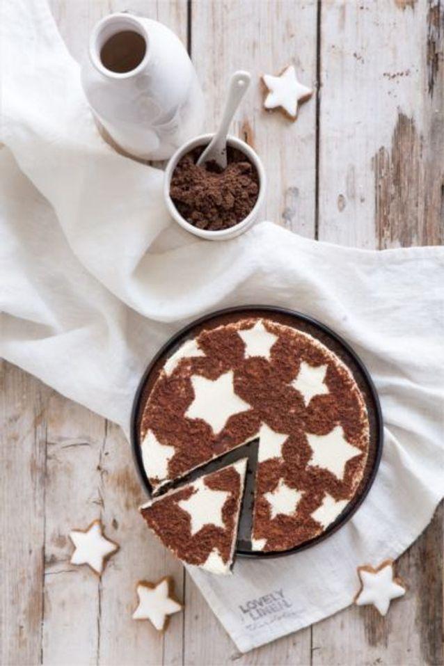 Christmas cake : Le tiramisu de noël