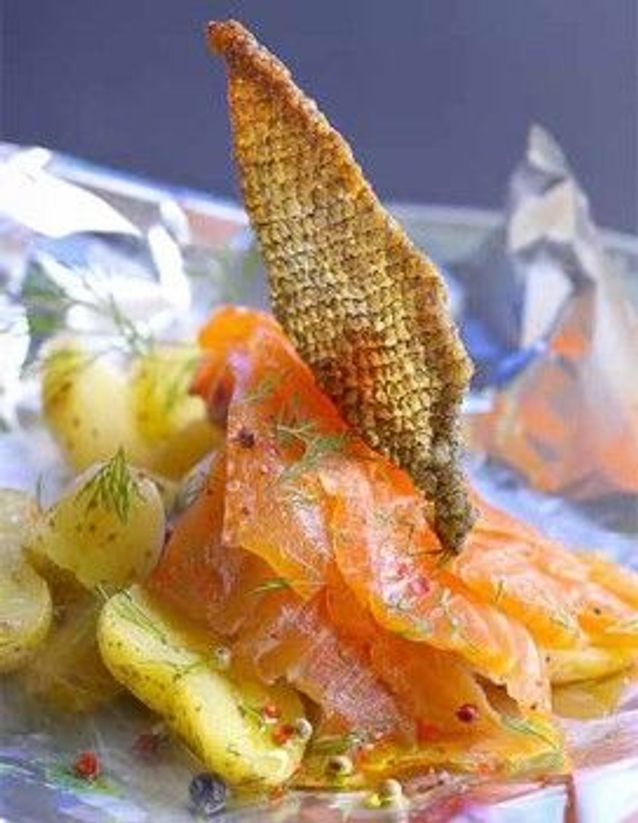 Noël scandinave: le saumon gravlax