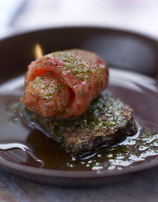 Noël scandinave: le saumon sauvage mariné aux airelles