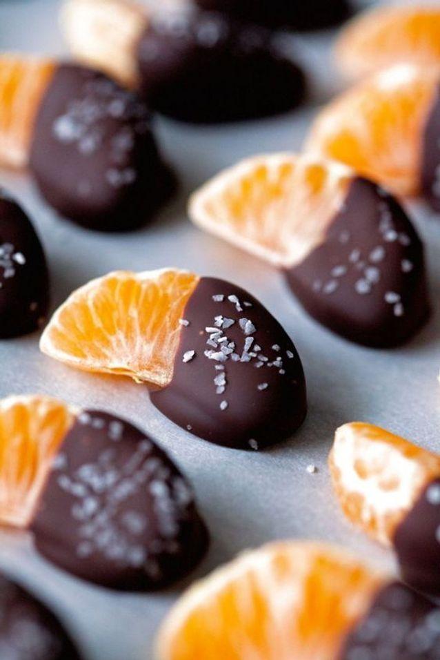 Clémentines chocolat