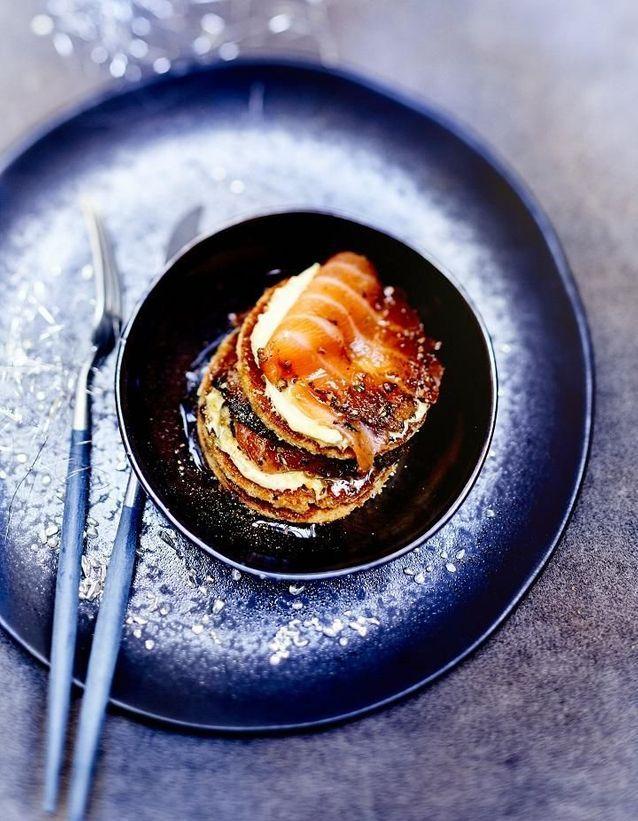 Saumon mariné aux épices