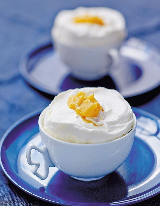 De la crème et de la mangue pour une recette bluffante givrée