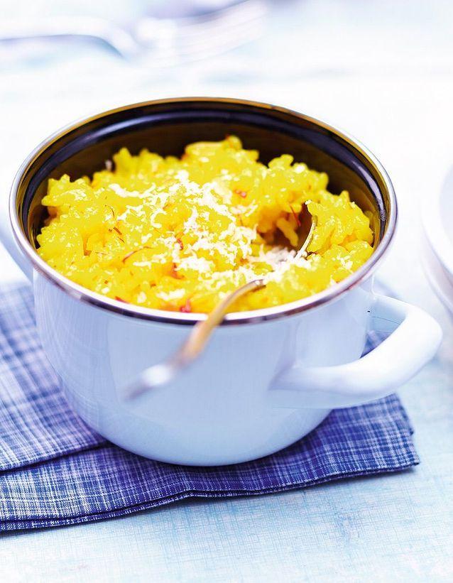 Risotto au safran et citrons confits