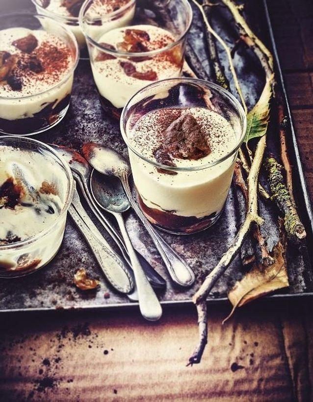 Tiramisu à la crème de marron