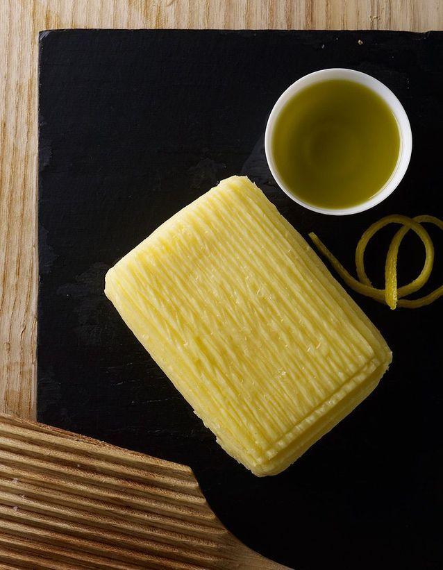 Beurre Bordier à l'huile citronnée