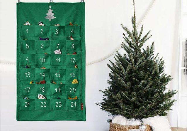 15 calendriers de l'Avent déco pour patienter jusqu'à Noël