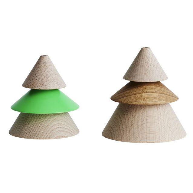Des sapins design en bois