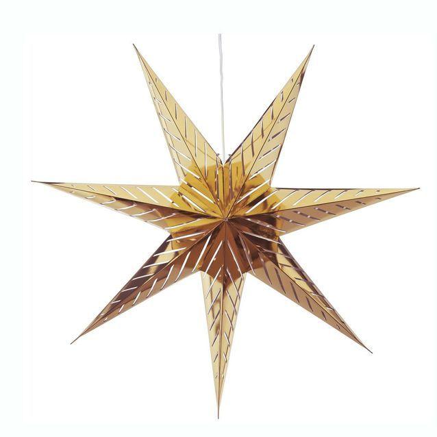 Une étoile dorée