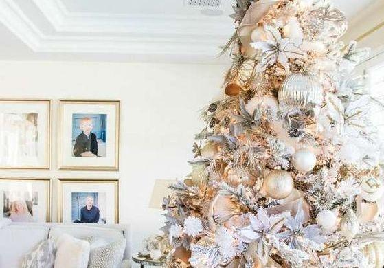 Les plus beaux sapins de Noël décorés