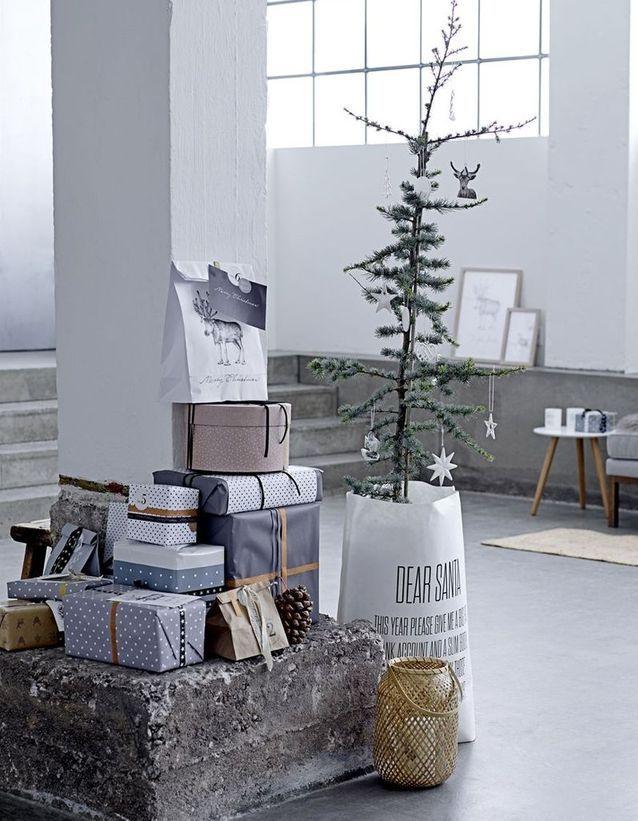 Sapin de Noël minimaliste