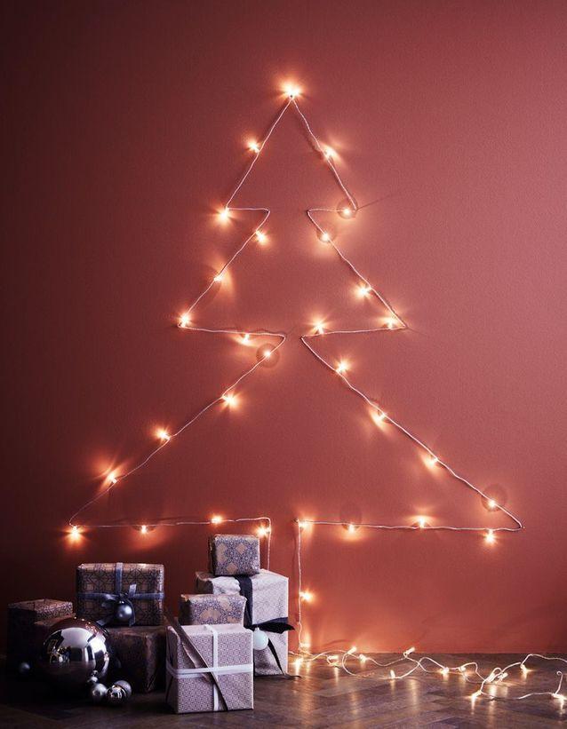Sapin de Noël mural   Toutes nos idées pour un sapin de Noël canon