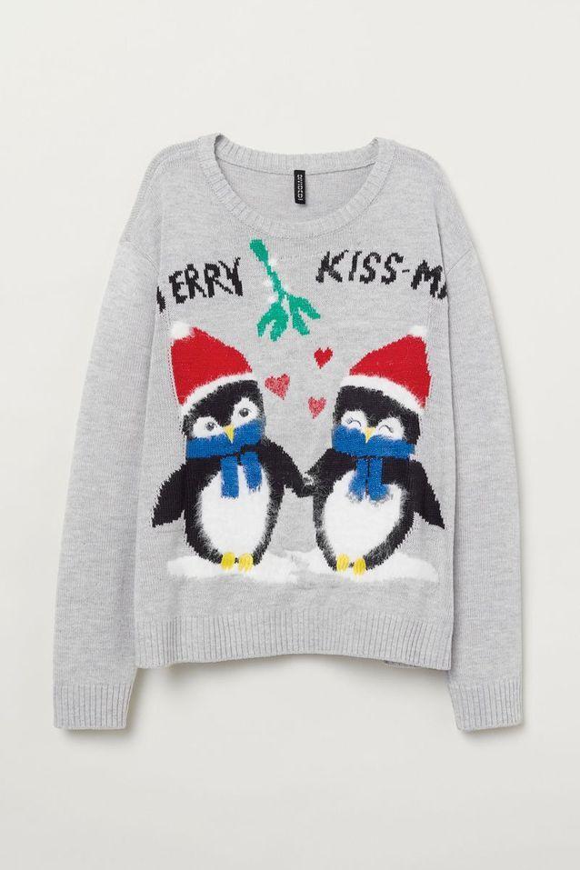 Pull de Noël H&M